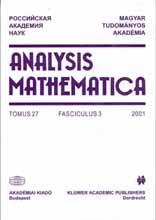 annales academiae scientiarum fennicae. ser. a.1 mathematica dissertationes