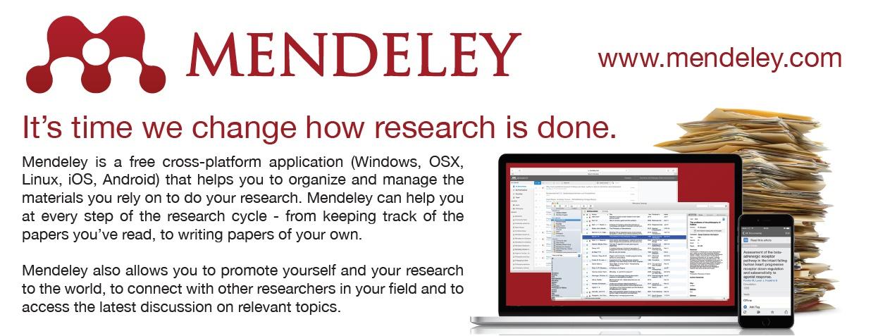 Május 31-én Mendeley oktatást tartunk az ELTE TTK-n